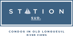 Station Sud Logo - Condos for sale Old Longueuil